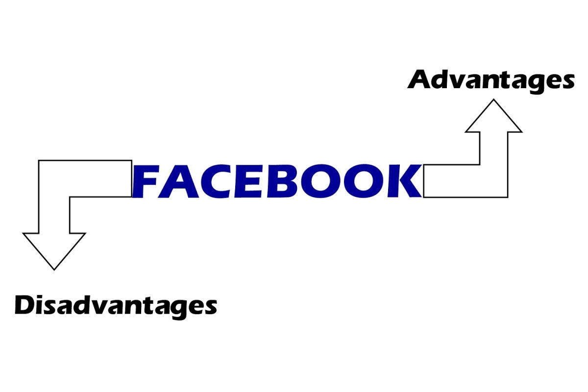 What are the advantages and disadvantages of Facebook?