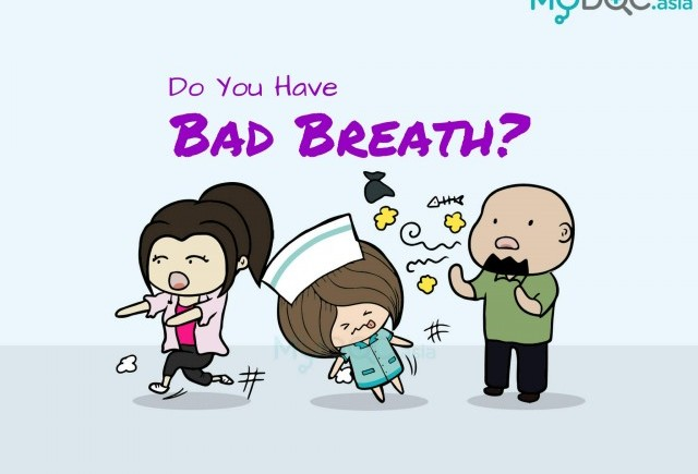 why does my breath always smell