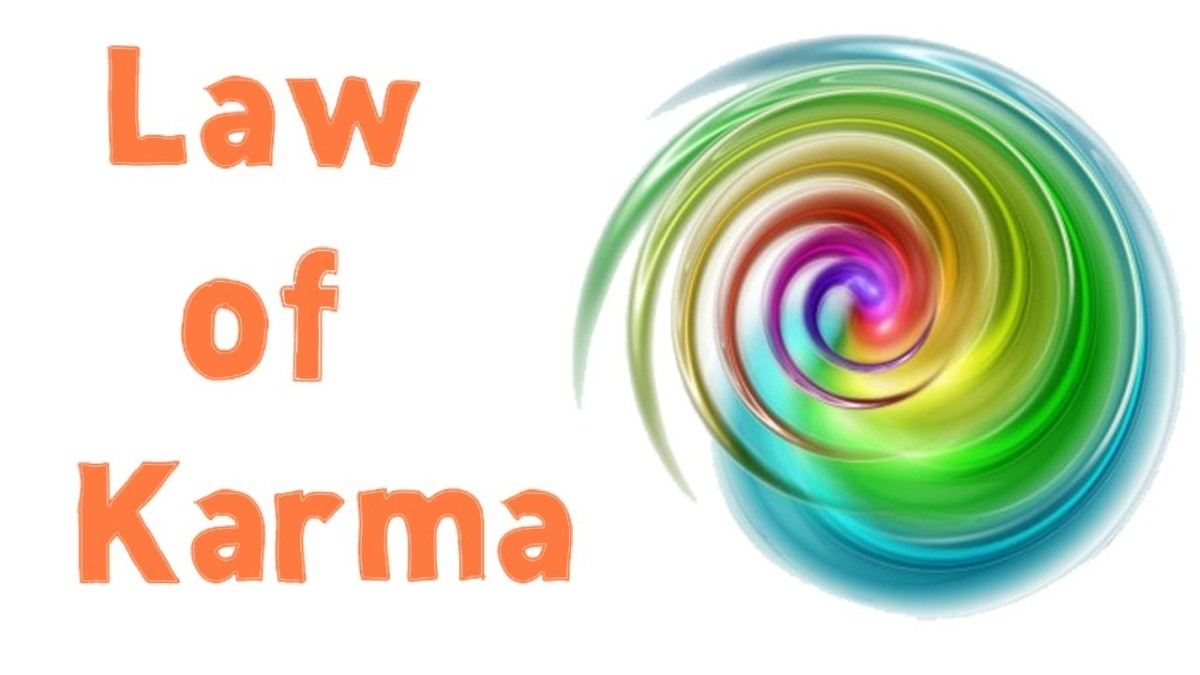 How does law of karma works ?
